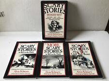 Scary Stories To Tell In The Dark Box Set By Alvin Schwartz Illus Stephen Gammel