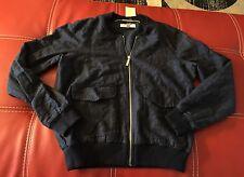 Michael Kors Ladies Jacket, Size 8, Navy, Zip, Pockets NWT Women's Top Clothing