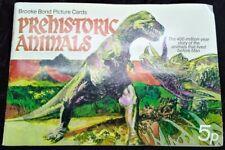 PREHISTORIC ANIMALS -BROOKE BOND TEA CARD  - COMPLETE SET 1972