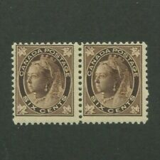 1897 Canada Postage Stamp #71 Mint Never Hinged Pair