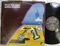 Rock Lp Three Dog Night Golden Bisquits On Dunhill