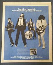 Cheap Trick - Heaven Tonight 1978 Trade Photo Print Ad