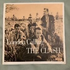 """The Clash - London Calling 7"""" Vinyl. Picture sleeve"""