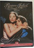 Romeo and Juliet (DVD, 2000) Olivia Hussey / NTSC / Region 1/ factory sealed
