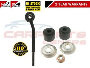 SSANGYONG REXTON 02-06 FRONT RIGHT ANTI ROLL BAR STABILIZER DROP LINK + BUSHES
