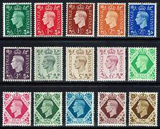 🌟 GB KGVI SG462 - SG475 DEFINITIVES 1937-1947 SET - MNH UNMOUNTED MINT