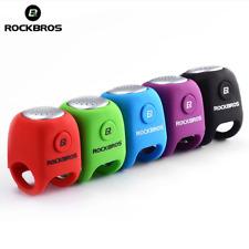 RockBros Mini Bike Bell Cycling Electric Bells Horns Rainproof 3 Molde Voices UK