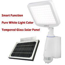 NEW 80 LED Digital Security Flood Light with Motion Detector Sensor Solar Power