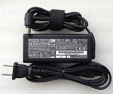 New Original OEM Sony 65W AC Adapter for Sony Vaio PCG-71311L,VGP-AC19V43 Laptop