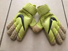NIKE Spyne Pro SOCCER GOALKEEPER GLOVES 9 Volt/White GOAL KEEPER