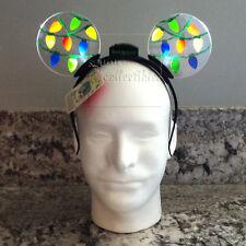 Disney Parks Holiday Animated Light Up Christmas Lights Ears Headband - Adult