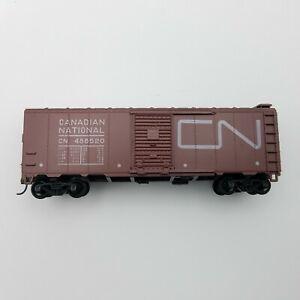 HO Athearn 1209 Canadian National 40' Steel Single Door Box Car CN 486520