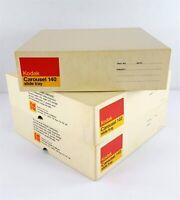 Lot of 3 Kodak Carousel Slide Trays 140 Capacity- Empty In Original Yellow Boxes