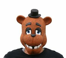Full Head FNAF Five Nights At Freddy's Cosplay Freddy Fazbear Photo Booth Mask