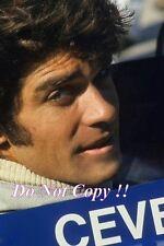 Francois Cevert Tyrell F1 Portrait Photograph 33