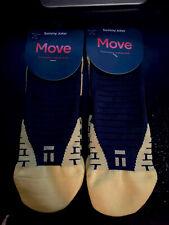 (LOT OF 6) Tommy John Move Performance Athletic Socks, Yellow, Men- Sz:11-14