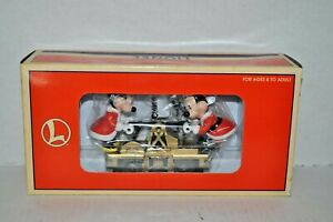 LIONEL 6-18433 DISNEY MICKEY & MINNIE MOUSE MOTORIZED HANDCAR O GAUGE, NEW, OB