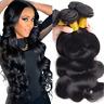 HOT Brazilian Body Wave Virgin Hair Weft 3 Bundles Human Hair Weave Extensions