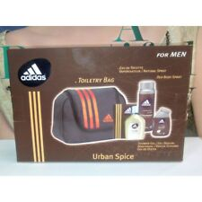 Adidas Urban Spice for Men Toiletry Bag EDT 3.4oz+Shower Gel 3.4oz + Deo 5.1oz