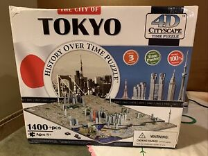 4D Cityscape Time Puzzle: The City Of Tokyo 1400+ Pcs
