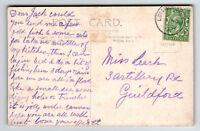 Grat Britain 1915 Longmoor Camp Army PO Card - Z13374