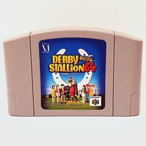 Derby Stallion 64 N64   Nintendo 64   JPN NTSC-J #057