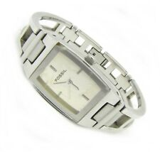 Fossil F2 Damen Armband Uhr Kinder Edelstahl silber ES-9809 3ATM Batt neu N51