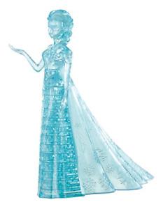 BePuzzled Original 3D Crystal Elsa Frozen Puzzle 32 Piece, Blue