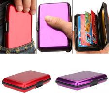 Men's Women Clutch Wallet ID Business Credit Card Holder Purse Mini Pocket Case