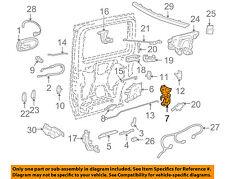 GM OEM Side Sliding Door-Lock 10347140
