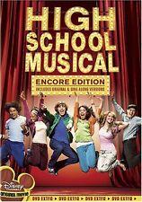 DVD High School Musical Encore Edition Disney 2006 Zac Efron Hudgens Tisdale