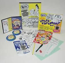 CARTOONING Deluxe Kit: INSTA CARTOONER, WHEEL OF FEATURES,  Bruce BLITZ, PAPER+