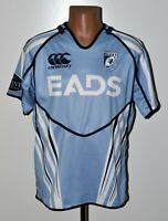 CARDIFF BLUES WALES RUGBY UNION SHIRT JERSEY CANTERBURY SIZE L ADULT