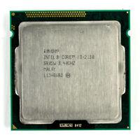 Intel i3-2130 Dual-Core 3.40GHz 3MB 5GT/s LGA1155 SR05W Desktop CPU Processor
