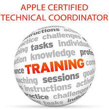 Apple CERTIFIED TECHNICAL COORDINATOR 10.11 - Video Training Tutorial DVD