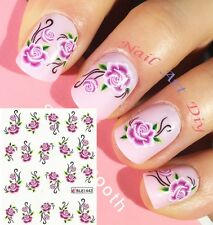 20 Nail Art Water Transfer Stickers(#BLE1442)-Decals-Adesivi Unghie- MANICURE!!!