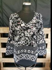 Blusa señora túnica Odd Molly talla 36-negro multicolor super Estado