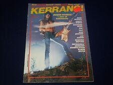 1983 SEPTEMBER 22-OCTOBER 5 KERRANG! MAGAZINE - ROBIN GEORGE - A 1982