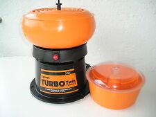 Lyman Turbo Twin Tumbler >> mit Granulat + 2. Reinigungsbehälter Poliertrommel