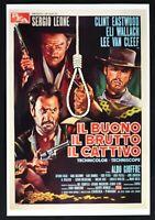 Plakat Die Gut Die Nasty Die Böse Sergio Leone Eastwood Van Cleef Film B56