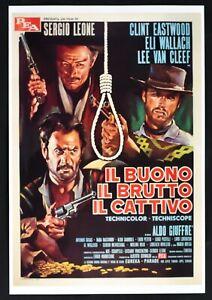 Large Wall Art The Good Ugly Bad Sergio Leone Eastwood Van Cleef Movie PP4