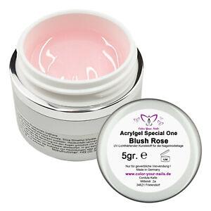 Special One Acrylgel Rosa Blush, wie UV Gel, Babyboomer Gel, Cremig & stabil