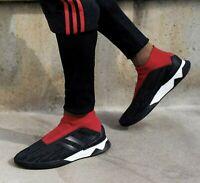 Adidas PREDATOR Tango 18+ TR BOOST Primeknit PK Red Black Training Shoes AQ0603