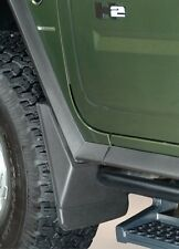 2003-2009 Hummer H2 Husky Front Black Custom Molded Mud Guards Free Shipping
