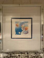 Very Rare, Peter Max Limited Edition Lithograph Thought Signed 278/280 Framed