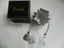 Harrods 925 Silver Pendant and Chain In a Gift Box