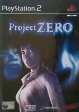 PROJECT ZERO PS2 Sony PlayStation 2 Shooting Video Game UK Release