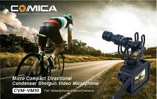 COMICA on-camera Shotgun Video Microphone with Shock-Mount For Samsung Iphone