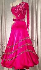 B7147 women Waltz Tango Slow Foxtrot/Quickstep Standard dance dress US 4 sleeve
