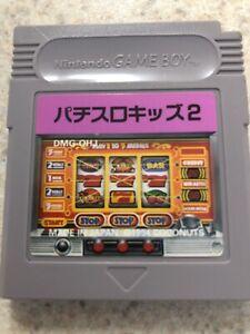 Game Boy GB Nintendo Pachi Slot Kids 2 Japan Version-US Seller